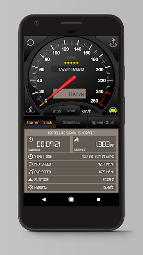 Speedometer GPS 3.7.63(googlemap) screenshots 1