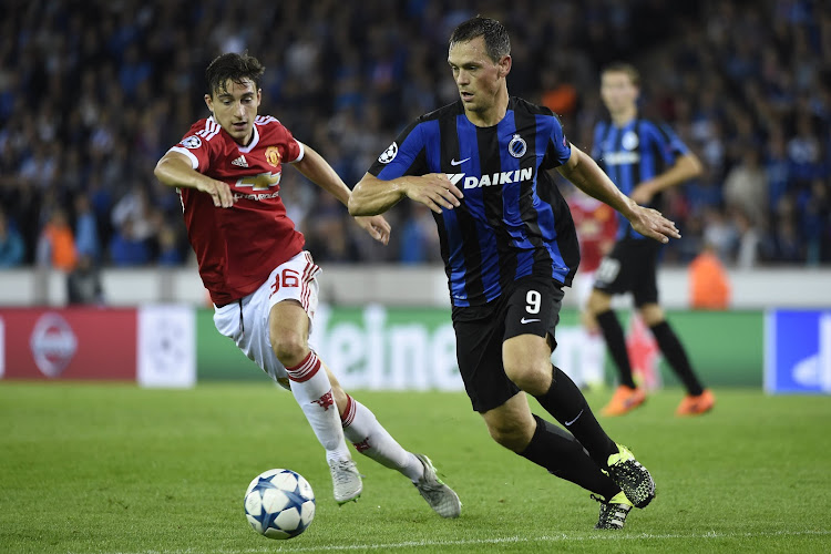 """0-4 tegen Man United was allerlaatste duel van De Sutter voor Brugge: """"Club is veel sterker dan vier jaar geleden"""""""
