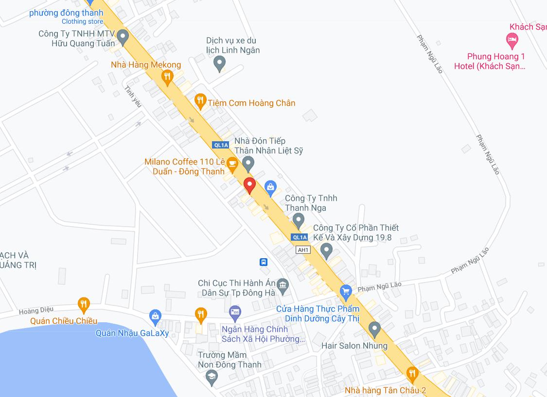 Điểm đón/trả khách tại Lạng Sơn