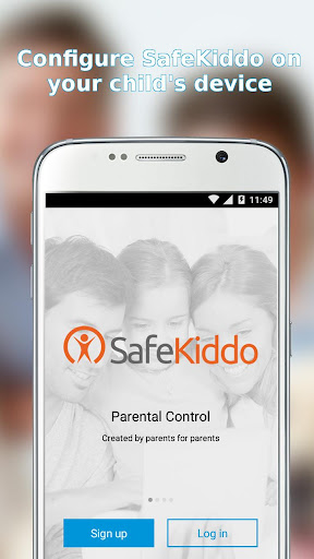 SafeKiddo Parental Control Screenshot