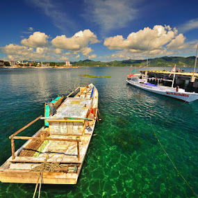 Katinting by Harris Rinaldi - Transportation Boats ( boat sulawesi indonesia )