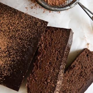 Four Ingredient Chocolate Fudge Cake.