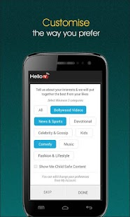 HelloTV  - Live TV | Videos | Movies- screenshot thumbnail