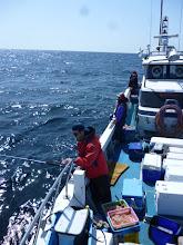 Photo: ようやく、波、風が落ち着いてまともに「釣り」ができそうです!