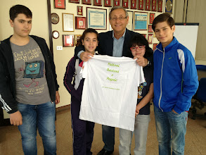 Photo: con il presidente del CUS Luca Di Mauro