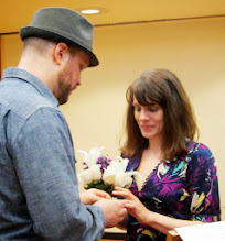 Photo: Mark's vows were long and detailed, and he delivered them flawlessly.
