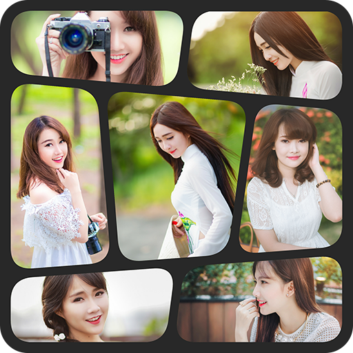 Collage photo frames app