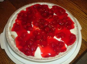 CHERRY - O - CREAM CHEESE PIE