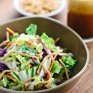 Chinese Chicken Salad with Vinaigrette Dressing