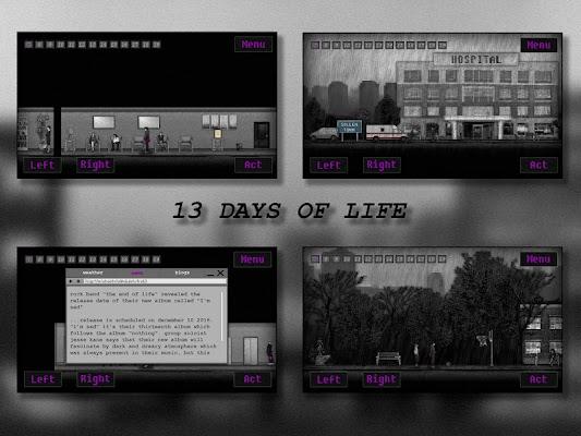 13 DAYS OF LIFE- screenshot
