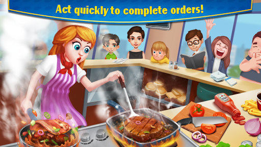 Crazy Cooking - Star Chef screenshots 2