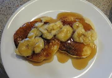 Peanut Butter & Banana Pancakes
