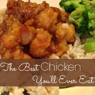 Baked Sweet & Sour Chicken With Rice