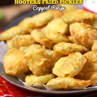 Hooters Fried Pickles Copycat.