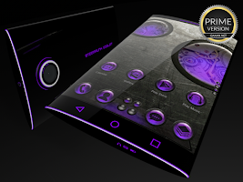 Screenshot of Steampunk Violet - Next Theme