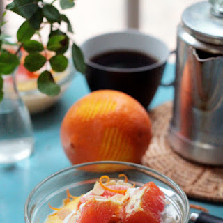 Return to Spring Cleaning via Creamy Polenta with Oranges & Almonds