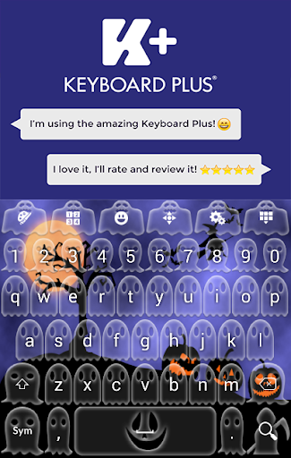 Pumpking Keyboard Plus Theme