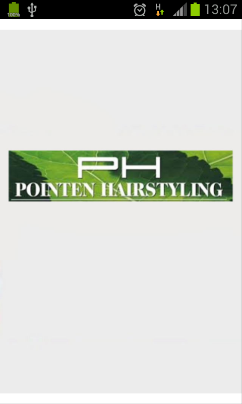 Pointen Hairstyling- screenshot
