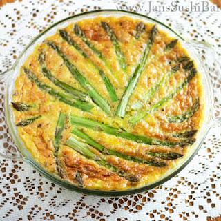 Savory Asparagus Flan.