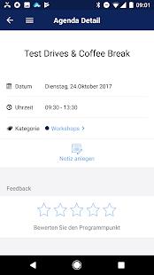 Mobile Event App - náhled