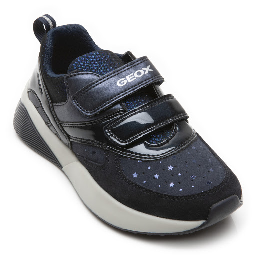 Thumbnail images of Geox Sinead Strap Trainer
