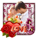 Love You Photo Frames Maker icon