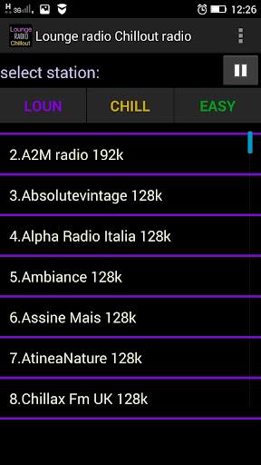 休息室無線電廣播ChillOut音樂