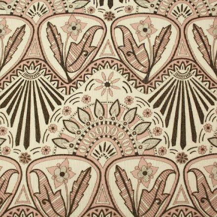 Art Nouveau Smalspårig Manchester - rosa