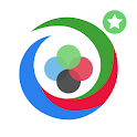 Color Swirl with Perk Points icon