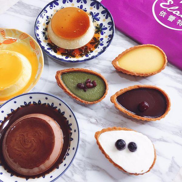 台南名產依蕾特布丁,新品上市,綿密頂級柔滑布蕾,精美禮盒適合送禮,抹茶紅豆乳酪塔好吃! 【台南女孩。美食日記】