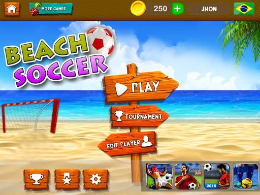 玩免費體育競技APP|下載Play Beach Soccer 2017 Game app不用錢|硬是要APP