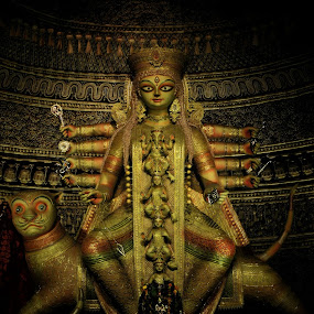 Durga by Mainak Das - Artistic Objects Other Objects