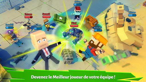 Pixel Arena Online: JcJ jeu de tireur & batailles fond d'écran 2