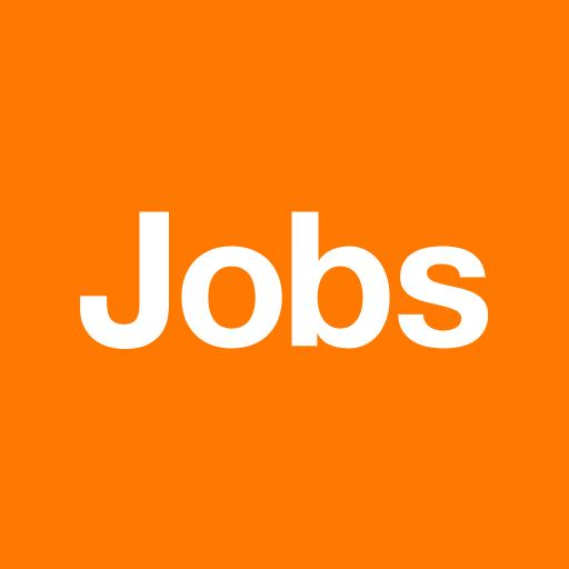 Orange Jobs Icon