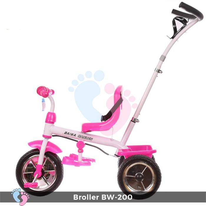 Xe đạp 3 bánh Broller XD3-200 có cây đẩy 3