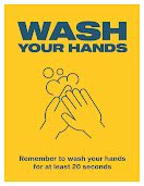 Wash Your Hands - Poster item