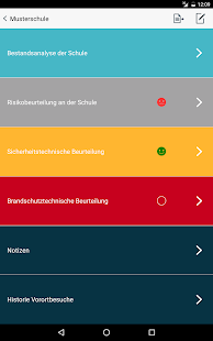 Schulcheck - Risikomanagement – Miniaturansicht des Screenshots