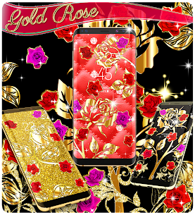 Gold rose live wallpaper Apk Download For Android 6