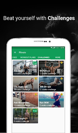 Fitvate - Home & Gym Workout Trainer Fitness Plans 6.8 screenshots 19