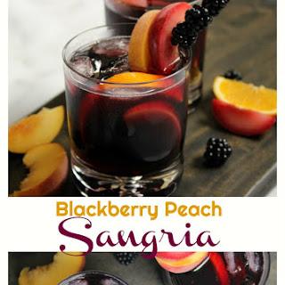 Blackberry Peach Sangria.