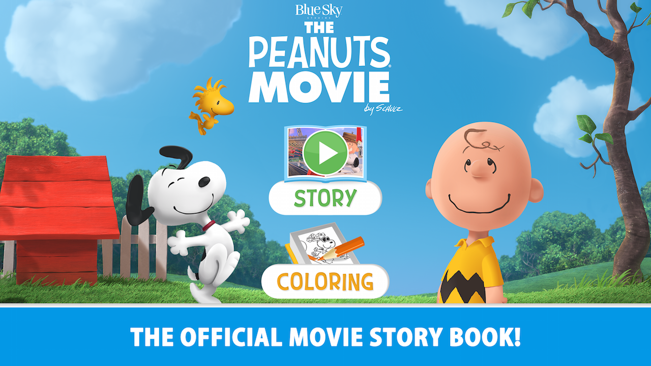 THE PEANUTS MOVIE OFFICIAL APP- screenshot