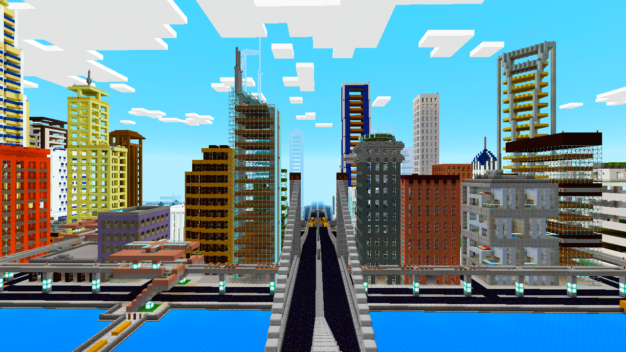 Mega City Map For Minecraft PE Android Apps On Google Play - New york map in minecraft