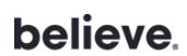 Believe logo