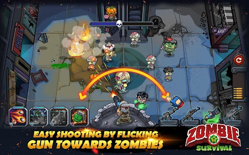 Zombie Survival: Game of Dead- screenshot thumbnail