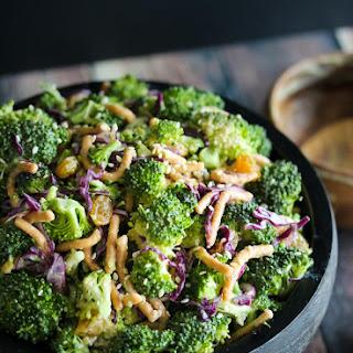 Miso Broccoili Salad