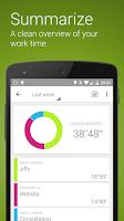 Screenshot of Jiffy - Time tracker