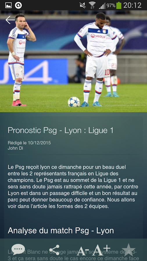 Xpronostic - foot pronostic – Capture d'écran