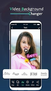 Video background Changer : Video Editor 3