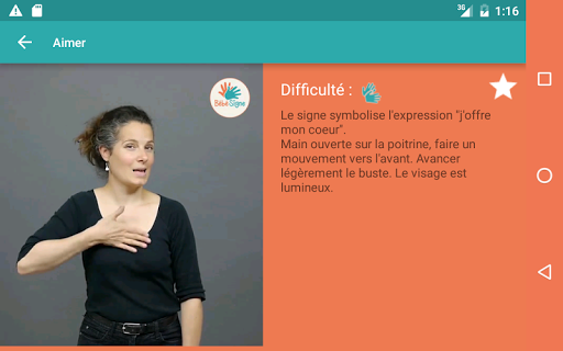 Bébé Signe screenshot 7
