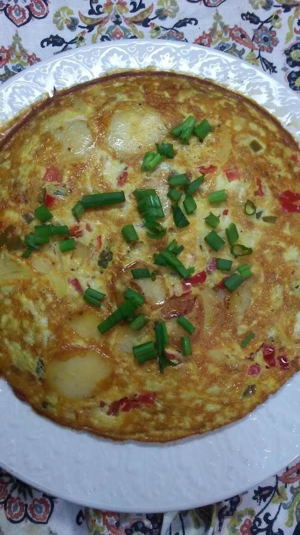 Spanish Chorizo & Potato Frittata Recipe